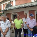 Pogledat je prišla tudi lokalna oblast: župan in predsednik četrtne skupnosti